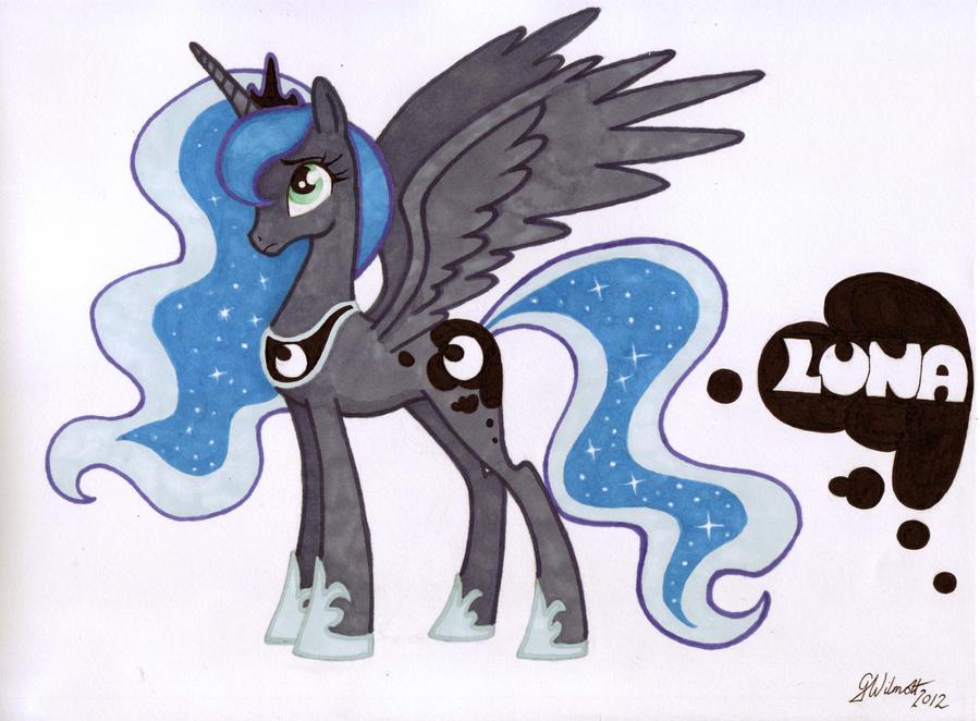 My Little Pony Friendship Is Magic Princess Luna by