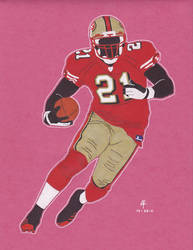 Frank Gore by 12me3
