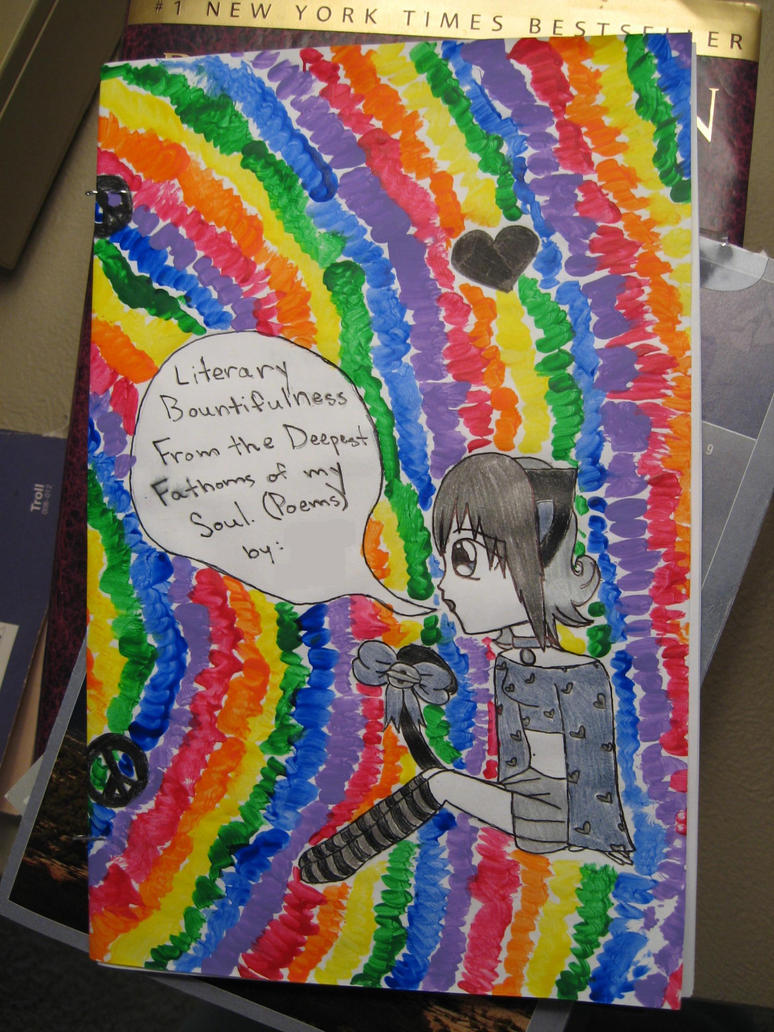 My Poetry Book Cover : My poetry book front cover by yaoi neko chan on deviantart