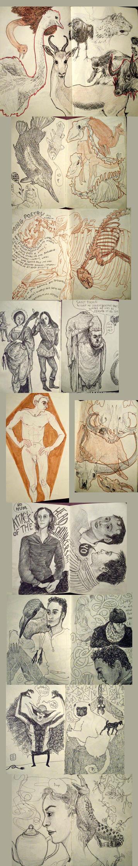 sketchbooking by spaptastic