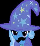 Mustache Attack Trixie