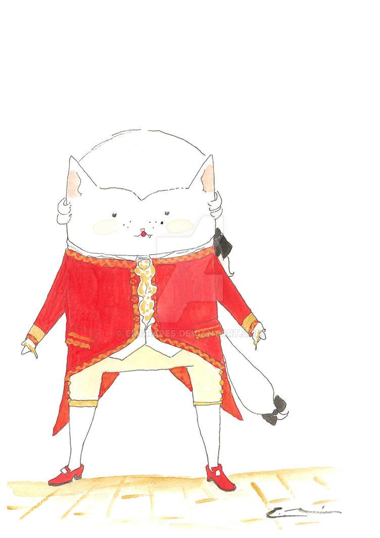 Beethoven Fancy Cat by EMGrapes