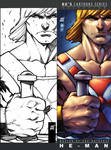 ComicCon SV Card collection He-man