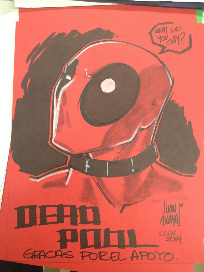 Deadpool by biroons