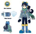Windy.EXE (Megaman BN OC) by MiniStar100