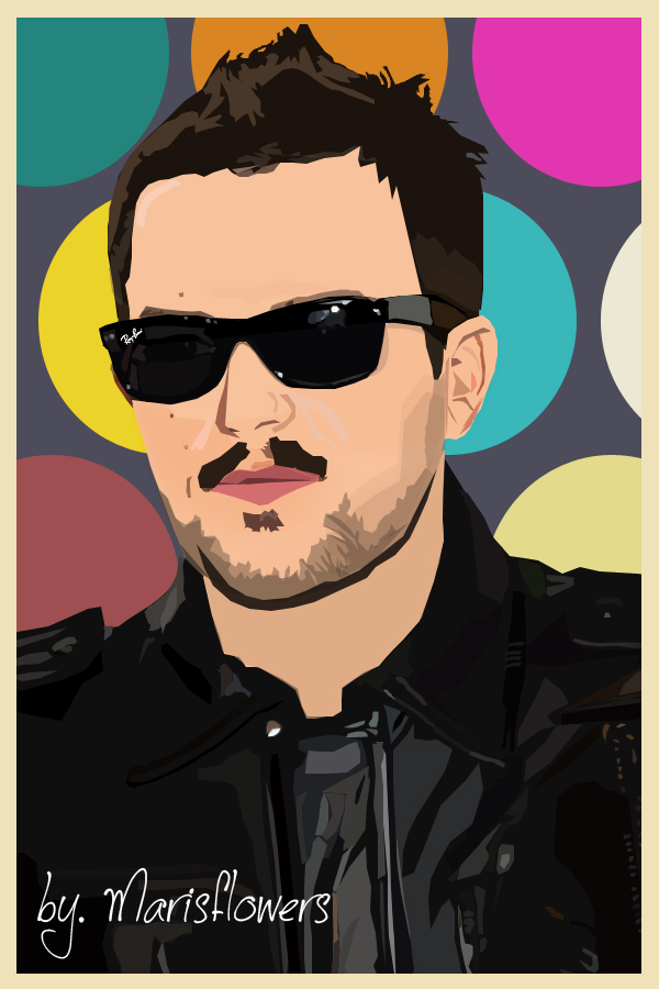 Brandon Flowers vector - final by Marisflowers