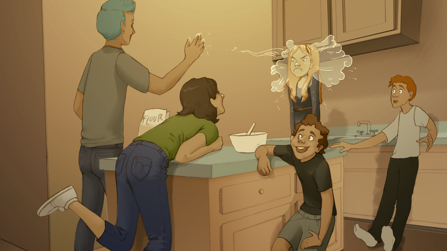 3am at the Weasley's by tigre-lys