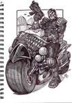 Dredd sketch