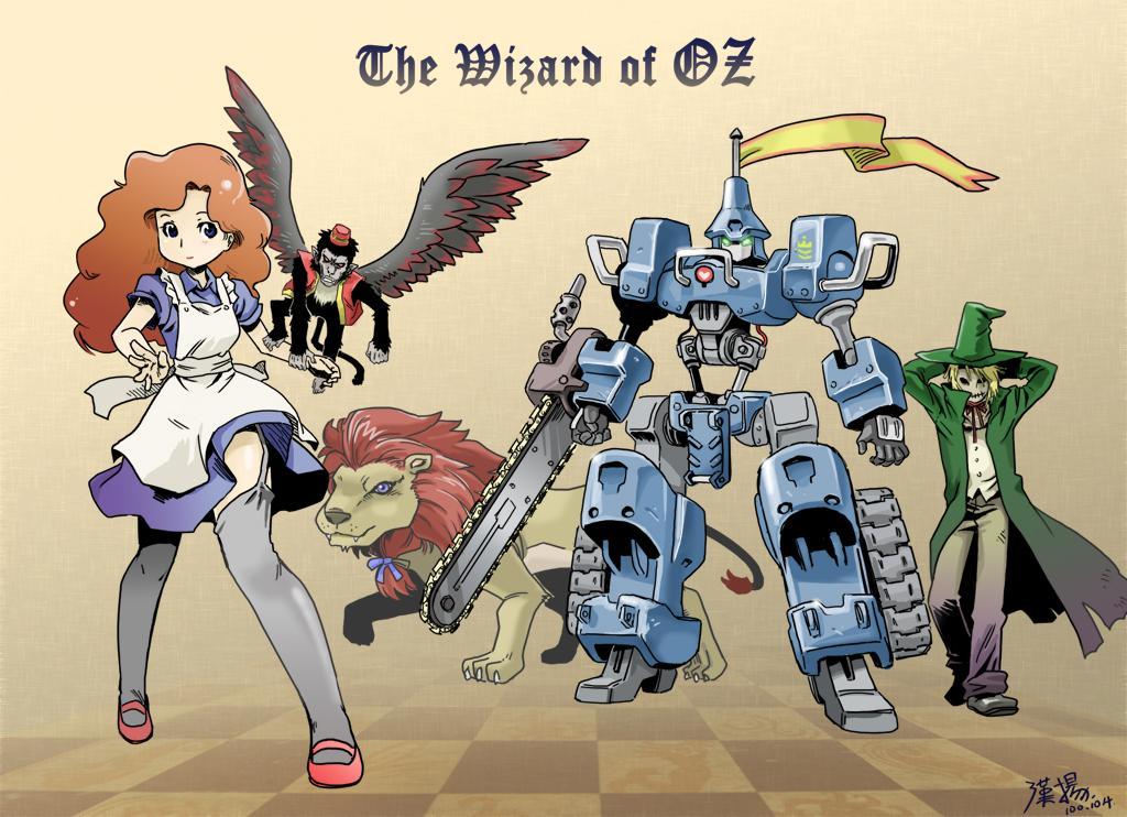 The Wizard of OZ by shepherd0821