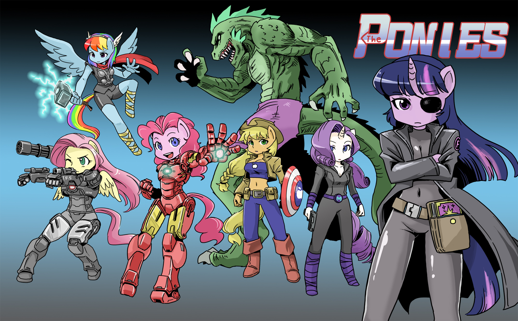 The PONIES by shepherd0821