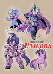 PONY GUNDAM UNICORN
