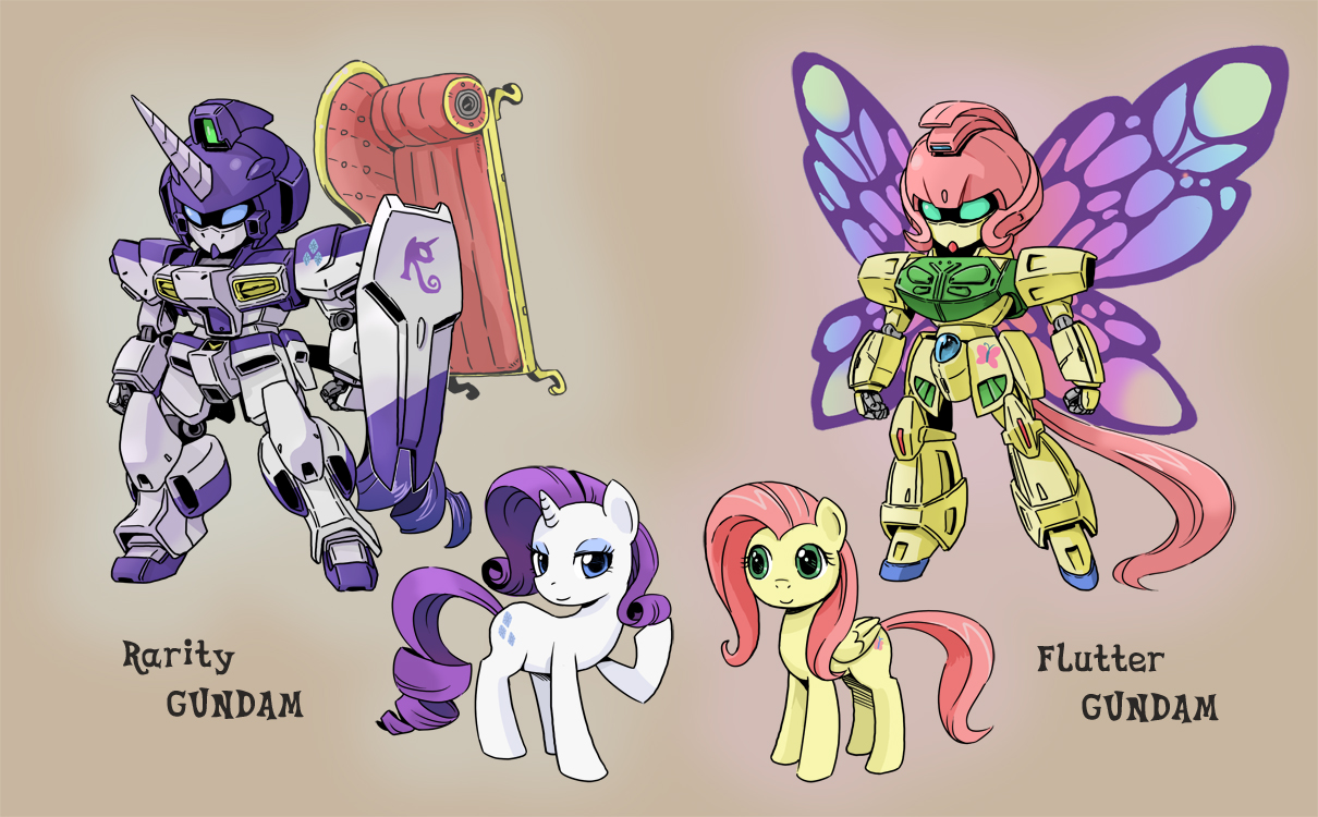 PONY GUNDAM 3 by shepherd0821