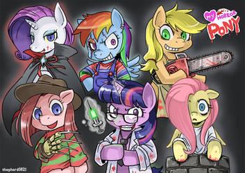 My horror pony by shepherd0821