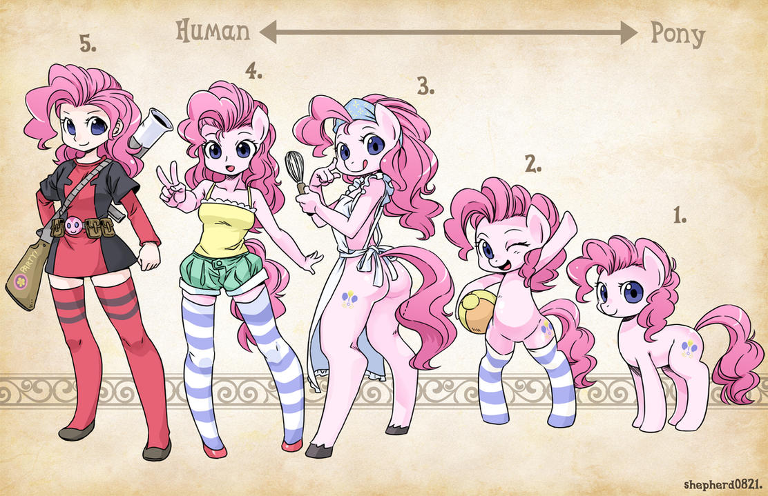 Types- Pinkie pie by shepherd0821