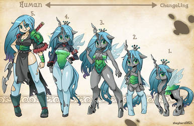 Types- Queen Chrysalis by shepherd0821