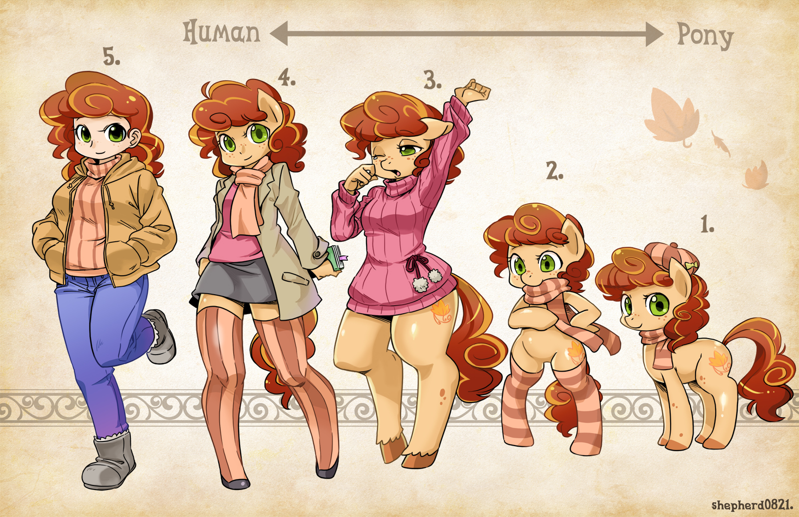 OC Types-Autumn Aria by shepherd0821