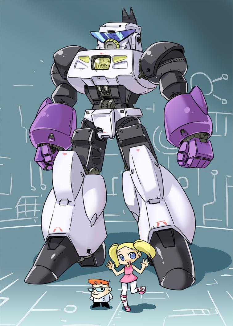 Robo-Dexo 2000 by shepherd0821