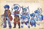 OC Types - Techno Blue