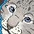 Snow Leopard Cub Pixel Icon - FREE - by BettaRae