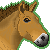 Przewalski's Horse Pixel Icon - FREE - by BettaRae