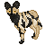 African Wild Dog Icon -FREE- by BettaRae