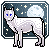 Wolf and Moon Icon Base .PNG by BettaRae