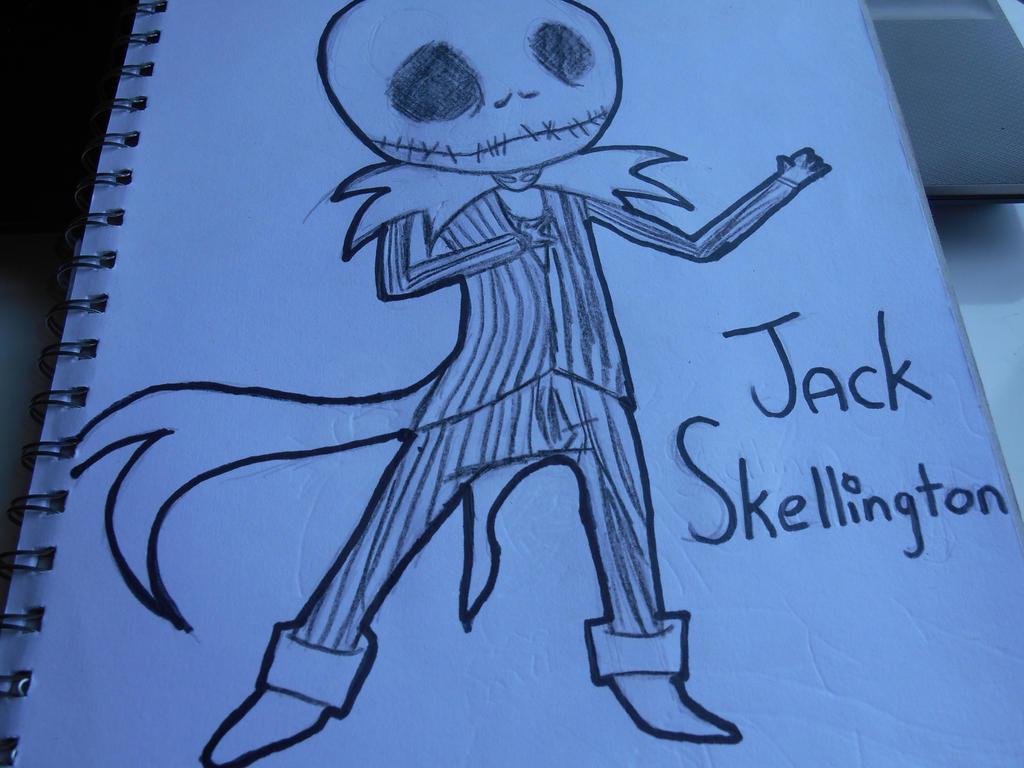 Jack Skellington - Chibi by MelodyLockstar