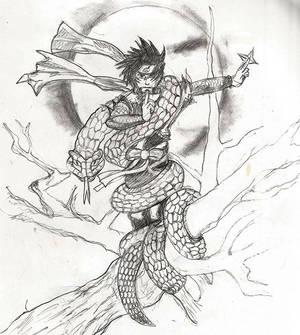 Sasuke Sketch Cropped