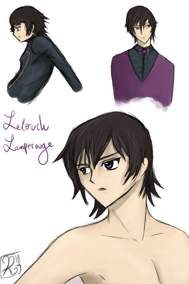 Lelouch Lamperouge by Phran-kill-in
