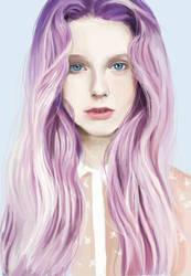 lavender girl training