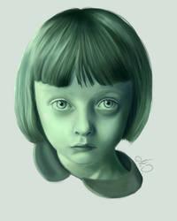 Zomby girl