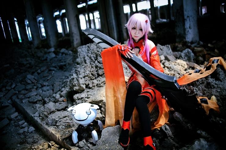 Inori Yuzuriha cosplay-Love death by YukariYu