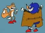 Sonic und Tails by Yetska