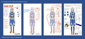 Correction for SilverFountainCrane by Usagi-Himeko