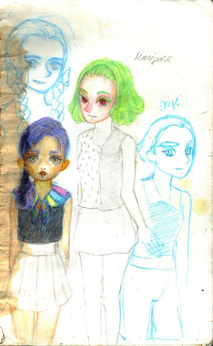Some Characters by Usagi-Himeko