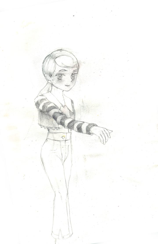 Striped Sleeves by Usagi-Himeko