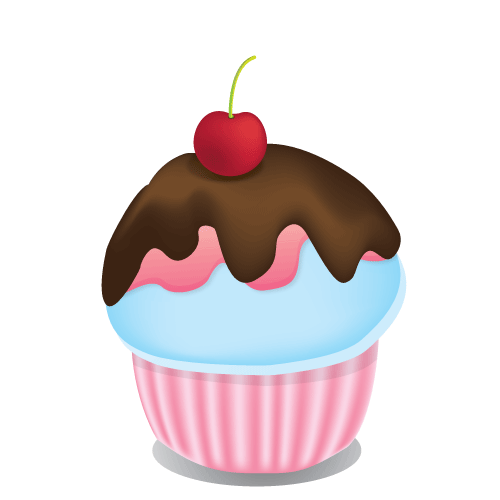 Cup Cake For Birthday