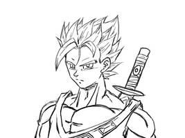 Robogozar Free sketch by ShinTheDragonFighter