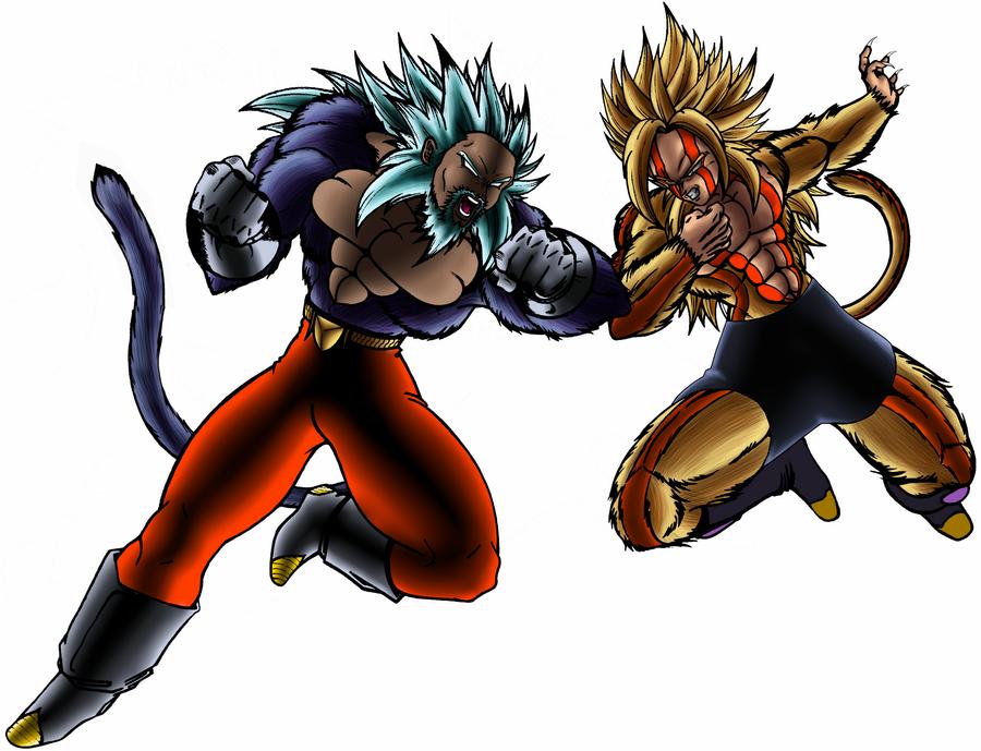 Saiyan Wars Collab by ShinTheDragonFighter