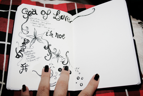 Black Book Art: Sea of Love by poeticartist