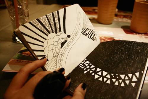 Black Book Art: Flight Drawing by poeticartist