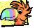 AleayoEmote HALLOWEEN parrot 50x40