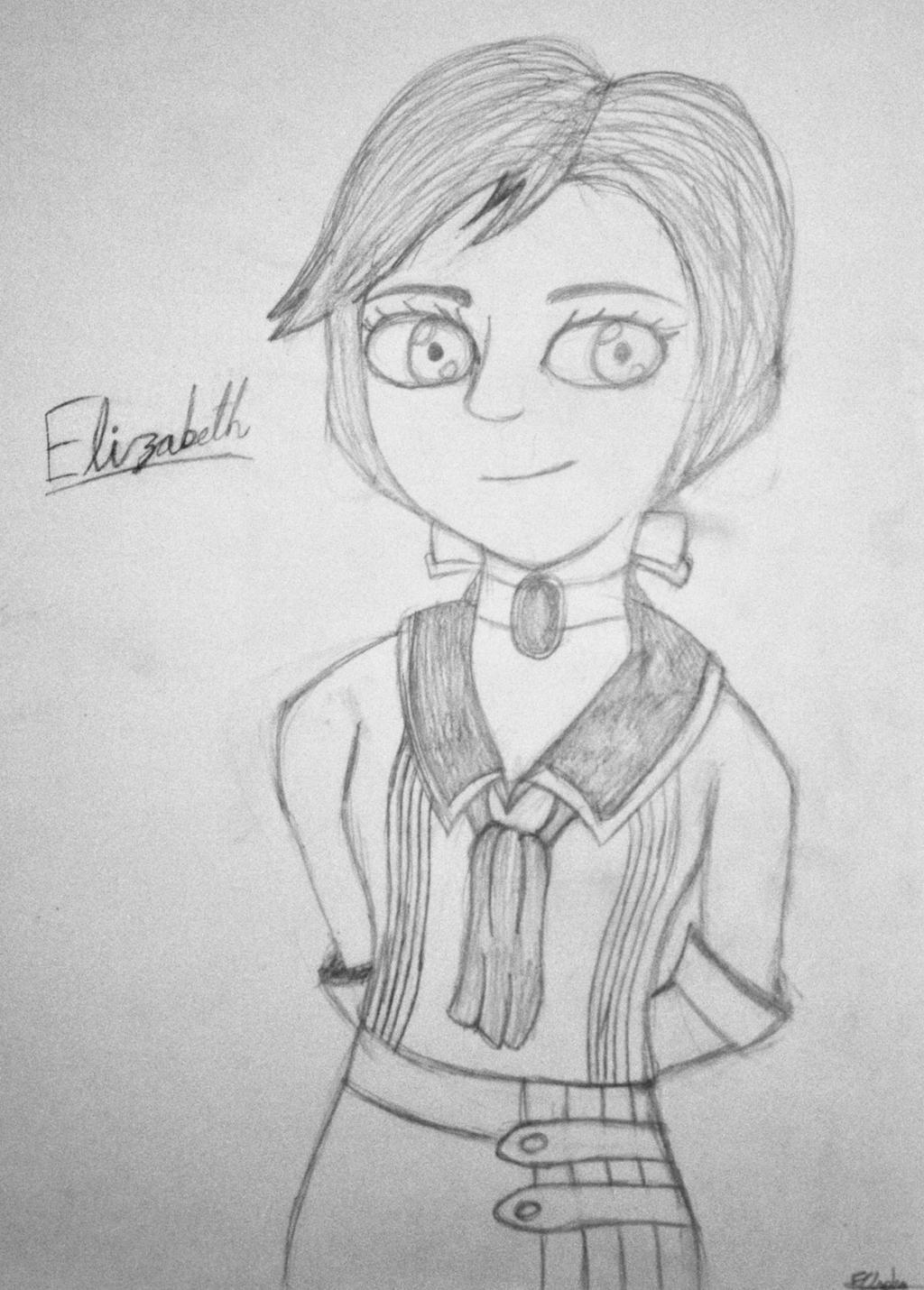 Bioshock Infinite - Elizabeth by SonicAngel23