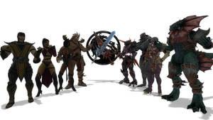 Mortal Kombat vs. Soul Calibur
