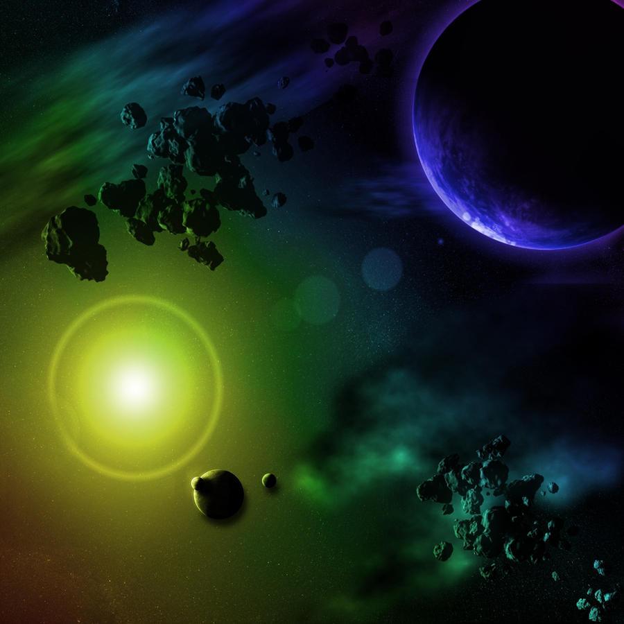 Space fun by Kitt98