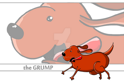 the Grump - Banner by FatAnnie