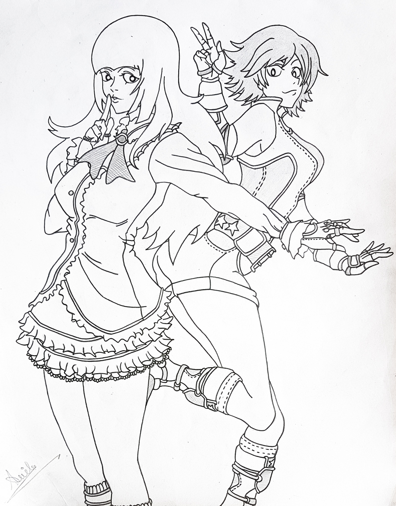 Lili X Asuka by i-am-rik