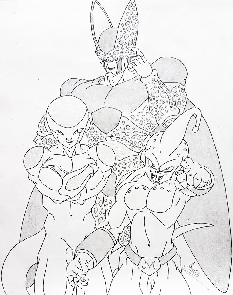 Evil Saga 1.... by i-am-rik