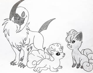 [AT] Which one is real Vulpix? by i-am-rik