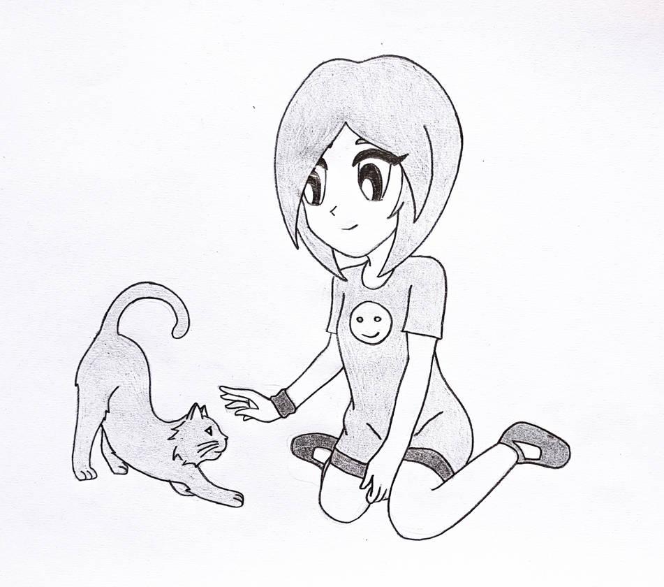 Hey Kitty..... by i-am-rik